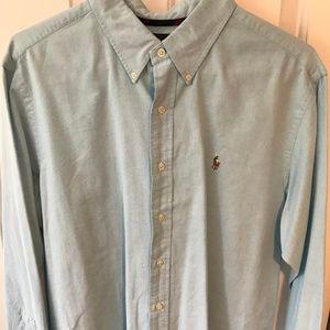 Ralph Lauren Polo Oxford Dress Shirt - Light Blue